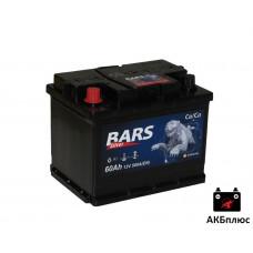 Bars Silver 60Ah 530A (EN)