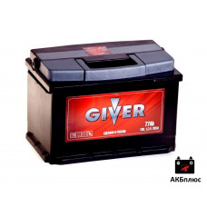 GIVER 77Ah  620