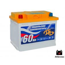 Подольск 60Ah 12B 430A (CCA)