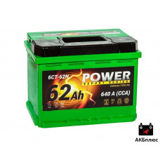 Power 62Ah  640A (CCA)
