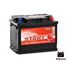 Extra Start 62Ah  580A (EN)