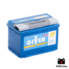 GIVER ENERGY 77Ah 750A