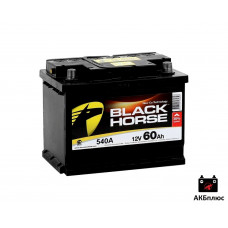 BLACK HORSE 60Ah  540A (EN)