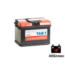 TAB 62Ah 600A (EN) низкий